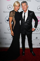 BEVERLY HILLS, CA, USA - OCTOBER 11: Yolanda Foster, David Foster arrive at the 2014 Carousel Of Hope Ball held at the Beverly Hilton Hotel on October 11, 2014 in Beverly Hills, California, United States. (Photo by Celebrity Monitor)
