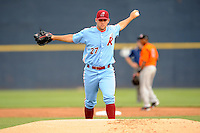 July 15, 2009:  Pitcher Joe Savery of the Reading Phillies during the 2009 Eastern League All-Star game at Mercer County Waterfront Park in Trenton, NJ.  Photo By David Schofield/Four Seam Images