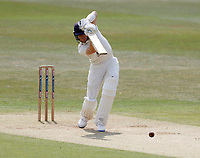 Jordan Cox drives for Kent during Kent CCC vs Sussex CCC, Bob Willis Trophy Cricket at The Spitfire Ground on 9th August 2020