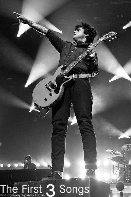 Billie Joe Armstrong of Green Day performs at the Console Energy Center in Pittsburgh, PA.