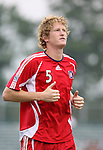 15 July 2007: Chicago's Jim Curtin.  The United Soccer League Division 1 Carolina Railhawks defeated Major League Soccer's Chicago Fire 1-0 in a Third Round Lamar Hunt U.S. Open Cup game at SAS Stadium in Cary, North Carolina.