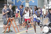 ATENCAO EDITOR: FOTO EMBARGADA PARA VEICULOS INTERNACIONAIS. - SAO PAULO,SP, 31 DEZEMBRO 2012 - CORRIDA DE SÃO SILVESTRE 2012 - Queniana de Cruzeiro Maurine Kipchumba vence  Sao Silvestre feminina  em sua 88 edicao, 31 - FOTO: LOLA OLIVEIRA/BRAZIL PHOTO PRESS
