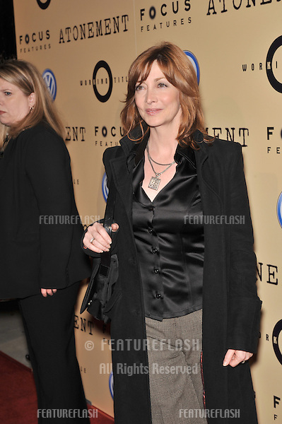 "Sharon Lawrence at the Los Angeles premiere of ""Atonement"" at the Academy Theatre, Beverly Hills..December 6, 2007  Beverly Hills, CA.Picture: Paul Smith / Featureflash"