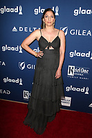 BEVERLY HILLS, CA - APRIL 12: Chelsea Peretti at the 29th Annual GLAAD Media Awards at The Beverly Hilton Hotel on April 12, 2018 in Beverly Hills, California. <br /> CAP/MPIFS<br /> &copy;MPIFS/Capital Pictures