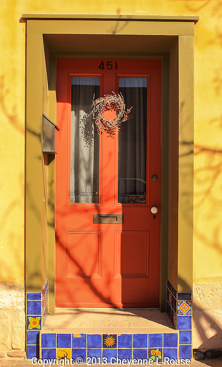 Colorful entrance- - Arizona