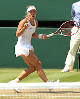 The Championships Wimbledon 2014 - The All England Lawn Tennis Club -  London - UK -  ATP - ITF - WTA-2014  - Grand Slam - Great Britain -  <br /> ANGELIQUE KERBER (GER)<br /> <br /> © J.Hasenkopf / Tennis Photo Network