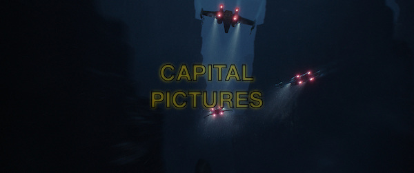 Rogue One: A Star Wars Story (2016)<br /> X-Wings<br /> *Filmstill - Editorial Use Only*<br /> CAP/KFS<br /> Image supplied by Capital Pictures