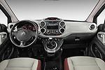 Straight dashboard view of a 2008 - 2014 Citroen BERLINGO Multispace 5-Door Mini Mpv 2WD