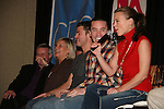 GL actors on stage - Ron Raines - Kim Zimmer - Jeff Branson - Tom Pelphrey - Gina Tognoni - So Long Springfield event celebrating 7 wonderful decades of Guiding Light which brought out Guiding Light Actors as they  came to see fans at the Hyatt Regency in Pittsburgh, PA. for Q & A, acting scenes between actors and fans by GL finest during the weekend of October 25, 2009. (Photo by Sue Coflin/Max Photos)