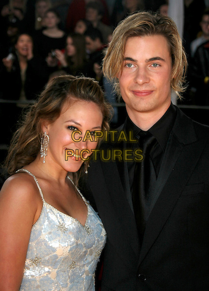 HAYLIE DUFF & ERIK VON DETTEN.31st Annual People's Choice Awards held at the Pasadena Civic Auditorium,  Pasadena, California, USA, .09 January 2005 .portrait headshot.Ref: ADM.www.capitalpictures.com.sales@capitalpictures.com.©Charles Harris/AdMedia/Capital Pictures .