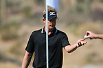 Luke Donald (ENG) in action on the 12th green during Day 3 of the Accenture Match Play Championship from The Ritz-Carlton Golf Club, Dove Mountain, Friday 25th February 2011. (Photo Eoin Clarke/golffile.ie)