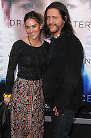 "WESTWOOD, LOS ANGELES, CA, USA - APRIL 10: Megan Ozurovich, Clifton Collins Jr. at the Los Angeles Premiere Of Warner Bros. Pictures And Alcon Entertainment's ""Transcendence"" held at Regency Village Theatre on April 10, 2014 in Westwood, Los Angeles, California, United States. (Photo by Xavier Collin/Celebrity Monitor)"