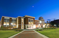 Union at Dusk,  Colvard Union (photo by Kristen Hines Baker / © Mississippi State University)