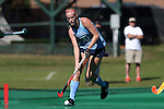 25 October 2014: North Carolina's Nina Notman (GER). The University of North Carolina Tar Heels hosted the Wake Forest University Demon Deacons at Francis E. Henry Stadium in Chapel Hill, North Carolina in a 2014 NCAA Division I Field Hockey match. UNC won the game 3-1.