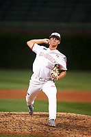 Caleb Sloan (36) of Regis Jesuit High School in Centennial, Colorado during the Under Armour All-American Game presented by Baseball Factory on July 23, 2016 at Wrigley Field in Chicago, Illinois.  (Mike Janes/Four Seam Images)