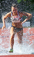 23 MAY 2010 - LOUGHBOROUGH, GBR - Aiya Abe (GB Juniors) - Womens 3000m Steeplechase - Loughborough International Athletics .(PHOTO (C) NIGEL FARROW)
