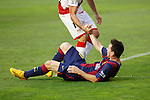 Barcelona´s Leo Messi during La Liga match between Rayo Vallecano and Barcelona at Vallecas stadium in Madrid, Spain. October 04, 2014. (ALTERPHOTOS/Victor Blanco)
