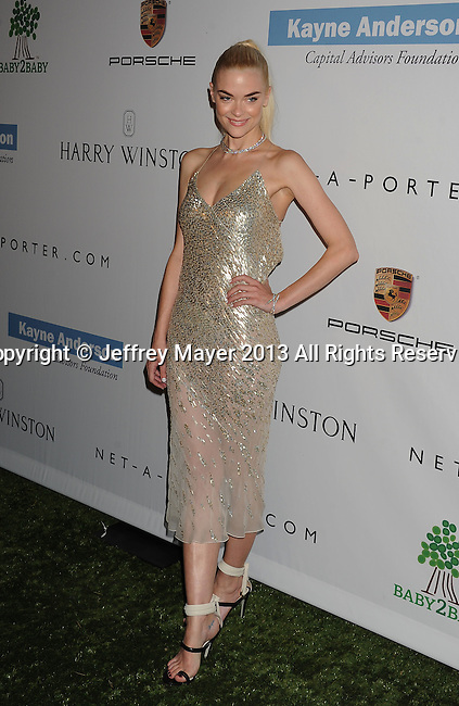 CULVER CITY, CA- NOVEMBER 09: Actress/model Jaime King arrives at the 2nd Annual Baby2Baby Gala at The Book Bindery on November 9, 2013 in Culver City, California.