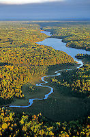 Cranberry Creek flows out of Locator Lake on Kabetogama Penninsula, Voyageurs National Park, Minnesota, AGPix_0541 .