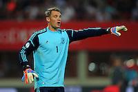 Fussball International  WM Qualifikation 2014   11.09.2012 Oesterreich - Deutschland Torwart Manuel Neuer (Deutschland)