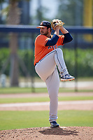 Houston Astros pitcher Brett Adcock (85) during a Minor League Spring Training Intrasquad game on March 28, 2018 at FITTEAM Ballpark of the Palm Beaches in West Palm Beach, Florida.  (Mike Janes/Four Seam Images)