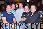 Pictured in Leens Hotel Abbeyfeale on Saturday night enjoying a Christmas night out were friends L-R: Fintan Leahy, Abbeyfeale, Jim Scanlon, Tounafulla, Noel O'Connor, Templeglantine, Andrew O'Regan, Knocknagoshel and Mike McElligot, Abbeyfeale.