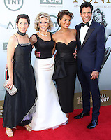 HOLLYWOOD, LOS ANGELES, CA, USA - JUNE 05: Vanessa Vadim, Jane Fonda, Simone Garity, Troy Garity at the 42nd AFI Life Achievement Award Honoring Jane Fonda held at the Dolby Theatre on June 5, 2014 in Hollywood, Los Angeles, California, United States. (Photo by Xavier Collin/Celebrity Monitor)