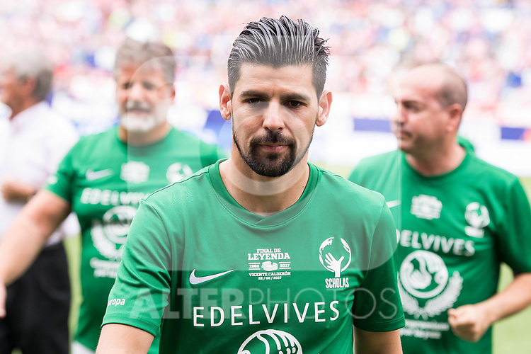 World Legend's Nolito during friendly match to farewell  to Vicente Calderon Stadium in Madrid, May 28, 2017. Spain.<br /> (ALTERPHOTOS/BorjaB.Hojas)
