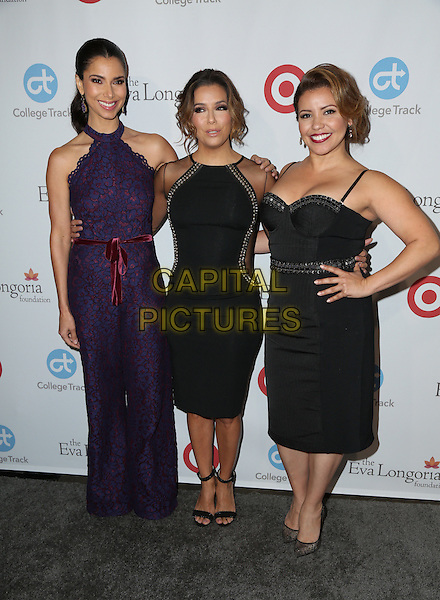 LOS ANGELES, CA - NOVEMBER 10: Roselyn Sanchez, Justina Machado, Eva Longoria attends the 5th Annual Eva Longoria Foundation Dinner at Four Seasons Hotel Los Angeles at Beverly Hills on November 10, 2016 in Los Angeles, California.  <br /> CAP/MPI/PA<br /> &copy;PA/MPI/Capital Pictures