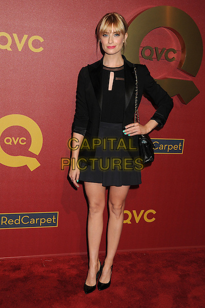 28 February 2014 - Los Angeles, California - Beth Behrs. QVC Presents Red Carpet Style held at the Four Seasons Hotel. <br /> CAP/ADM/BP<br /> &copy;Byron Purvis/AdMedia/Capital Pictures