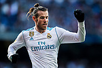 Gareth Bale of Real Madrid celebrates during the La Liga 2017-18 match between Real Madrid and RC Deportivo La Coruna at Santiago Bernabeu Stadium on January 21 2018 in Madrid, Spain. Photo by Diego Gonzalez / Power Sport Images