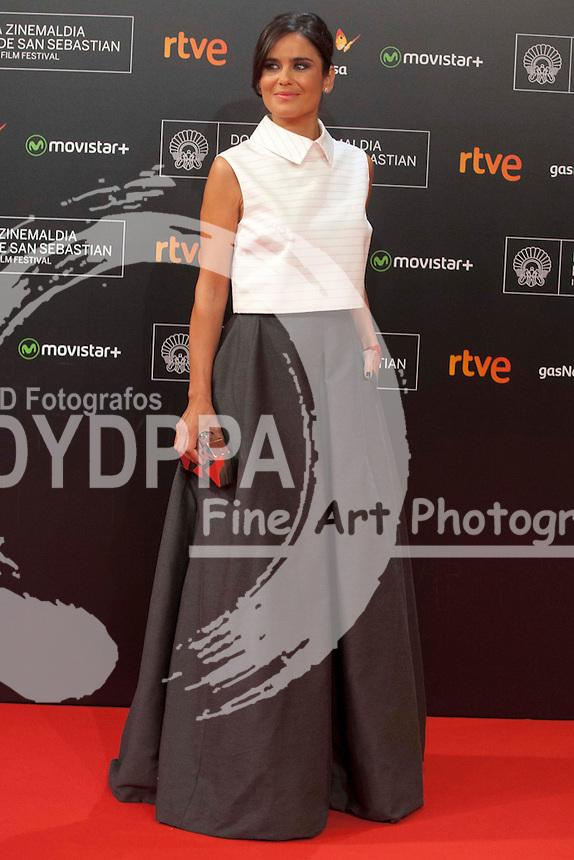 Elena S. Sanchez poses