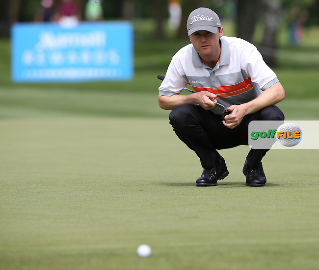 Michael Hoey (NIR) makes his move with a 65 during Round Two of the 2015 BMW International Open at Golfclub Munchen Eichenried, Eichenried, Munich, Germany. 26/06/2015. Picture David Lloyd | www.golffile.ie