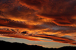 Another Sierra sunset, as seen from Gardnerville, Nev., on Sunday, July 31, 2011. .Photo by Cathleen Allison