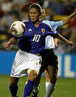 Homare Sawa of Japan. 2003WWC Japan/Argentina