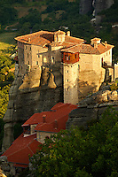 Greek Orthodox Rosanou Monastery, Meteora Mountains, Greece