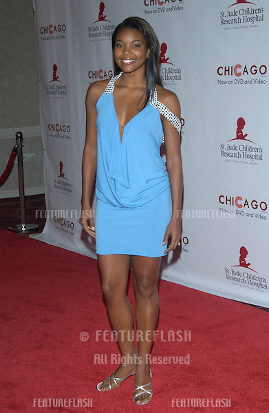 Actress GABRIELLE UNION at the 2nd Annual Runway for Life celebrity fashion show benefitting the St. Jude's Children's Research Hospital and celebrating the DVD release of Chicago..Aug 19, 2003