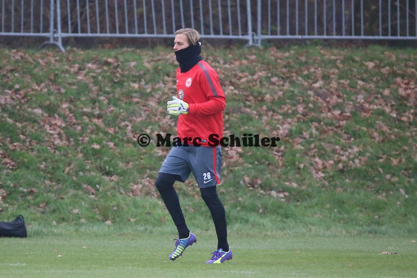 Timo Hildebrand (Eintracht) - Eintracht Frankfurt Training, Commerzbank Arena