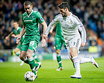 Real Madrid's Spanish forward Isco during the Champions league football match Real Madrid vs Ludogorets at the Santiago Bernabeu stadium in Madrid on december 9, 2014. Samuel de Roman / Photocall3000.