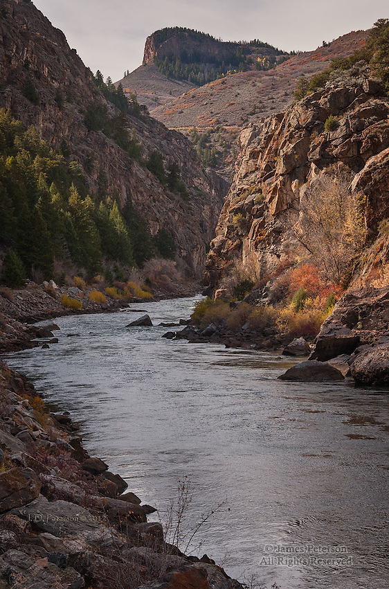 Gunnison River at The Entrance To Black Canyon, Colorado