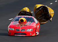 Jul. 19, 2014; Morrison, CO, USA; NHRA top sportsman driver XXXX during qualifying for the Mile High Nationals at Bandimere Speedway. Mandatory Credit: Mark J. Rebilas-