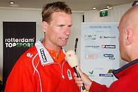 10-9-07, Rotterdam, Euromast, Persconferentie Davis Cup, Captain Jan Siemerink