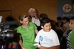 Bill Austin and Marlee Matlin at the Starkey Hearing Foundation event on June 18, 2011 at the Las Vegas Hilton, Las Vegas, Nevada. (Photo by Sue Coflin/Max Photos)