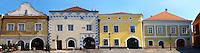 K?szeg  ( Korszeg ) old town square - Hungary