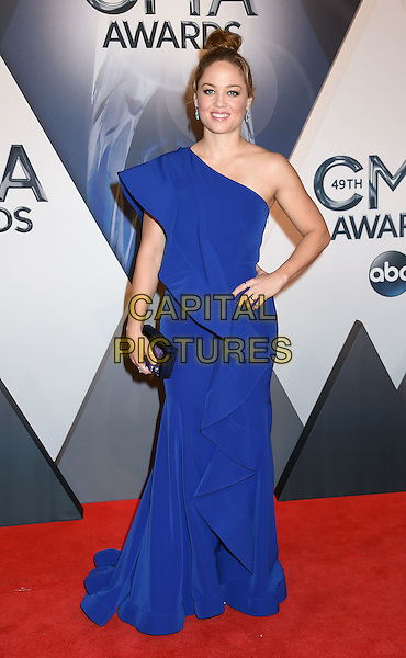 4 November 2015 - Nashville, Tennessee - Erika Christensen. 49th CMA Awards, Country Music's Biggest Night, held at Bridgestone Arena. <br /> CAP/ADM/LF<br /> &copy;LF/ADM/Capital Pictures