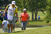 Tyrrell Hatton (ENG) makes his way to 9 during round 4 of the WGC FedEx St. Jude Invitational, TPC Southwind, Memphis, Tennessee, USA. 7/28/2019.<br /> Picture Ken Murray / Golffile.ie<br /> <br /> All photo usage must carry mandatory copyright credit (© Golffile | Ken Murray)