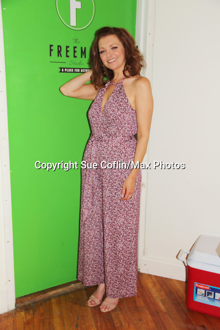 """As The World Turns' Anne Sayre at """"The F"""" - a Benefit for the film was held on June 22, 2018 at the Freeman Studio, New York City, New York. (Photo by Sue Coflin/Max Photo)"""
