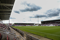 A general view of the Sixfields Stadium<br /> <br /> Photographer Andrew Kearns/CameraSport<br /> <br /> The EFL Sky Bet League One - Northampton Town v Fleetwood Town - Saturday August 12th 2017 - Sixfields Stadium - Northampton<br /> <br /> World Copyright &copy; 2017 CameraSport. All rights reserved. 43 Linden Ave. Countesthorpe. Leicester. England. LE8 5PG - Tel: +44 (0) 116 277 4147 - admin@camerasport.com - www.camerasport.com