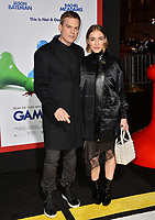 Michael C. Hall &amp; Morgan Macgregor at the premiere for &quot;Game Night&quot; at the TCL Chinese Theatre, Los Angeles, USA 21 Feb. 2018<br /> Picture: Paul Smith/Featureflash/SilverHub 0208 004 5359 sales@silverhubmedia.com