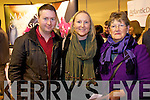 Pictured at the wedding fayre in the INEC, Killarney on Sunday were Oisin Sheehy, Tipperary with Catherine and Margaret Curran, Waterville.